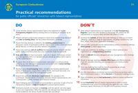 Event Debrief Report Template Unique Annual Report 2017 Relazione Annuale Mediatore Europeo
