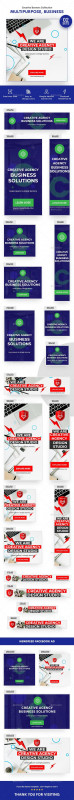 Facebook Banner Size Template Unique Multipurpose Business Startup Banners Ads 02 Sets Banners