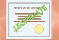 Fake Death Certificate Template Awesome 3 Ways to Get A Certificate Of Authenticity Wikihow