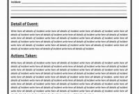 Fake Police Report Template Awesome 015 Police Report Sample Template Stupendous Ideas Investigation