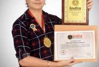 Felicitation Certificate Template Awesome Unique Female with Multi Professions India Book Of Records