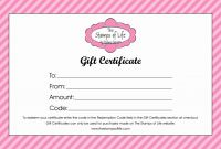 Fillable Gift Certificate Template Free New Printable Blank Gift Certificate Template Free Massage Awesome