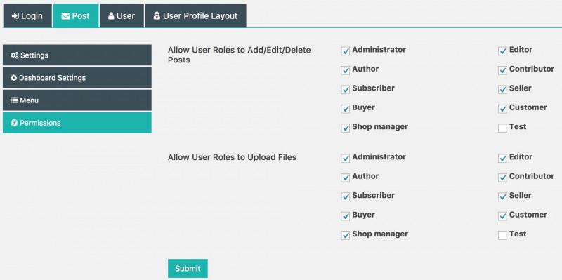 Financial Reporting Dashboard Template Professional Frontend Dashboard Wordpress Plugin Wordpress org