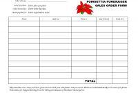 Fleet Report Template Unique Free Fundraiser order form Template Fundraiser order form