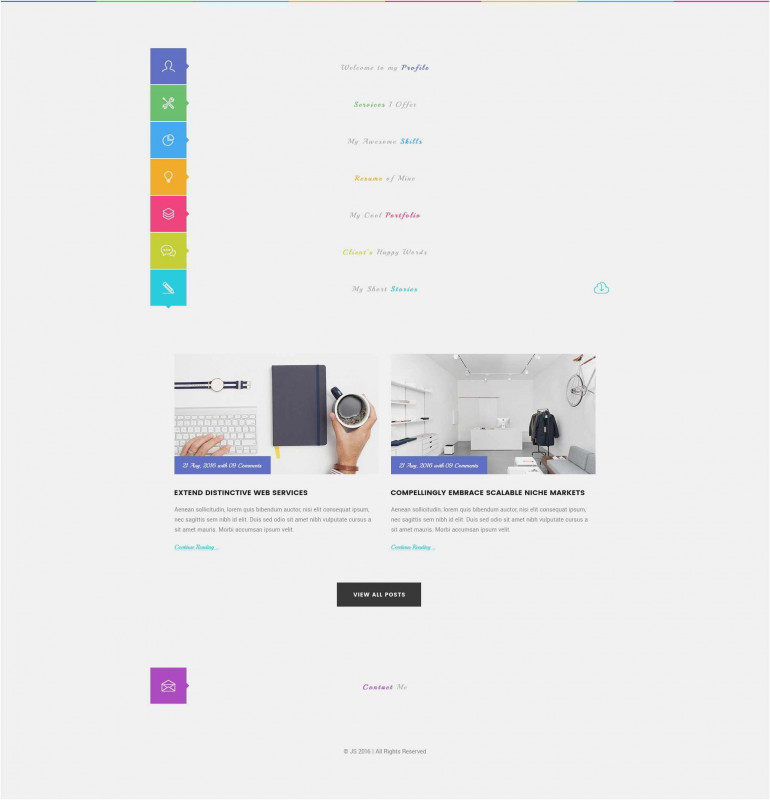 Free Blank Banner Templates Awesome Free Collection Professional Resume Website New Resume Site format