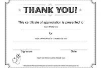 Free Certificate Of Appreciation Template Downloads Unique Lovely Certificate Of Appreciation Template Www Pantry Magic Com