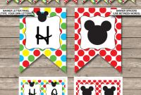 Free Happy Birthday Banner Templates Download New Coloring Books Free Pink Minnie Mouse Birthday Party Printables