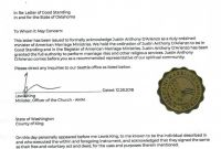 Free ordination Certificate Template Unique ordained Minister Oklahoma Fresh ordained Minister Certificate