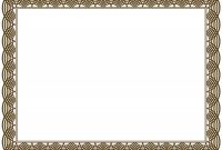 Free Printable Certificate Border Templates Awesome Award Certificate Template Border Seattlebaby Co