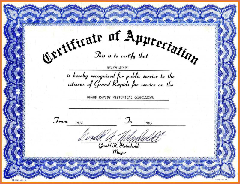 Funny Certificates For Employees Templates New Employee Appreciation Certificate Templates Maco Palmex Co