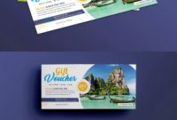 Gift Certificate Template Photoshop Awesome Travel Gift Certificate Template Seattlebaby Co