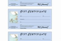Golf Certificate Templates for Word Unique Spa Gift Certificate Template Word Brochure Templates Rohanspong Net