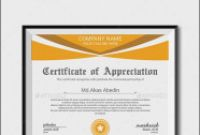 Gratitude Certificate Template New Certificate Of Appreciation Template Free Printable 57 Images In