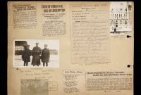 Guinness World Record Certificate Template Unique Florence Westman First World War Scrapbook Victoria to Vimy Uvic