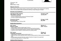 Gymnastics Certificate Template Awesome Writing A Cv In English Example New Image Resume for Job Application