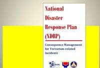 Hazard Incident Report form Template New National Disaster Response Plan Ndrp