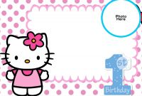 Hello Kitty Birthday Banner Template Free New Birthday Invitation Template Avengers Cinderella Invite Wording Text
