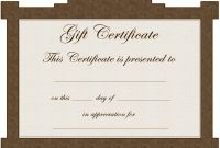 Homemade Christmas Gift Certificates Templates Awesome Free Printable Gift Certificates for Services Gift Ideas