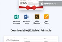 Homemade Gift Certificate Template New 012 Gift Certificate Template Free Download Unbelievable Ideas