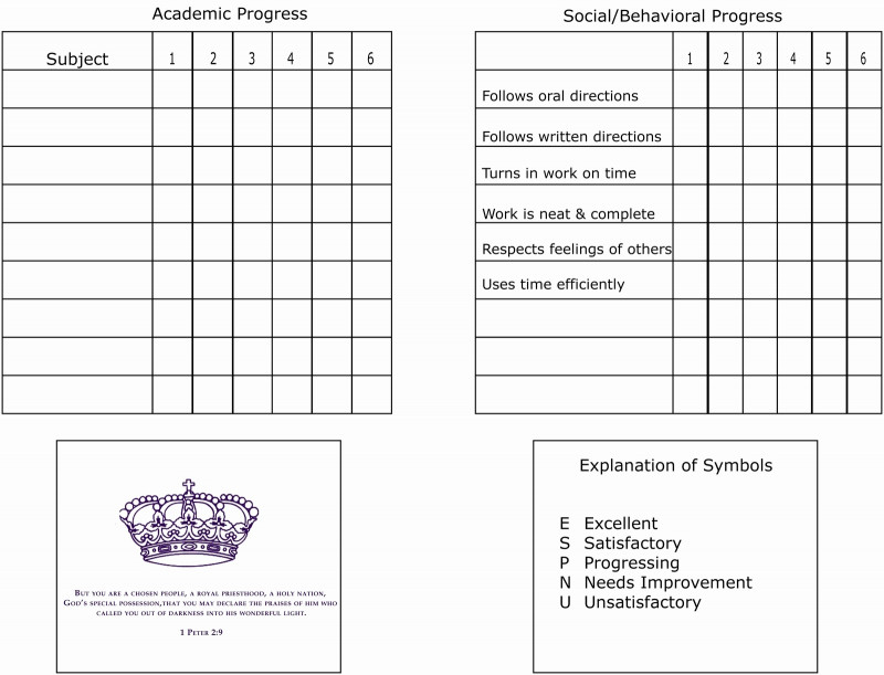 Homeschool Report Card Template Middle School Professional 50 Luxury Business Report Card Template Hydraexecutives Com