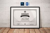 In Appreciation Certificate Templates Awesome Certificate Template Certificate Of Appreciation Printable Award