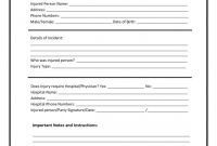 Incident Report Template Itil New Incident Report Sample In Workplace Doc Letter Employee Manswikstrom