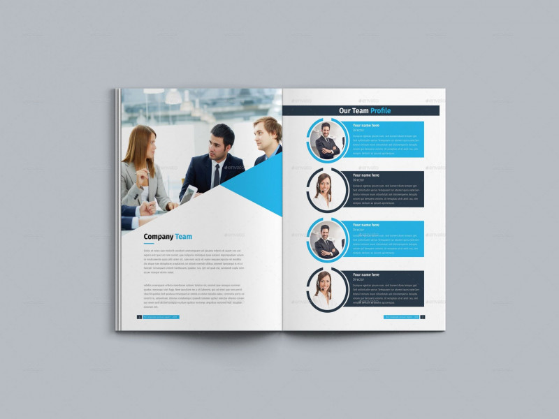 Ind Annual Report Template Professional WordPress Annual Report Template Glendale Community