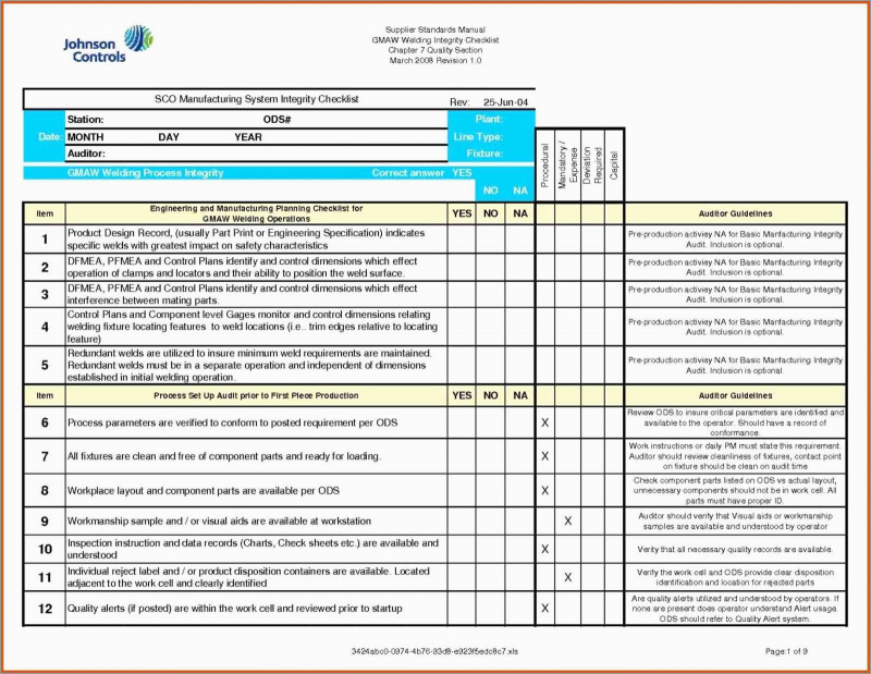 Information System Audit Report Template Awesome New Iso 9001 Templates Free Download Best Of Template