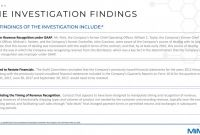 Investigation Report Template Disciplinary Hearing Awesome Ex 99 2