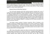 Investigation Report Template Disciplinary Hearing Professional Read the Mueller Report the Full Redacted Version Annotated