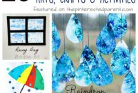 Kids Weather Report Template Awesome 25 Rain themed Arts Crafts Activities Virtual Book Club for