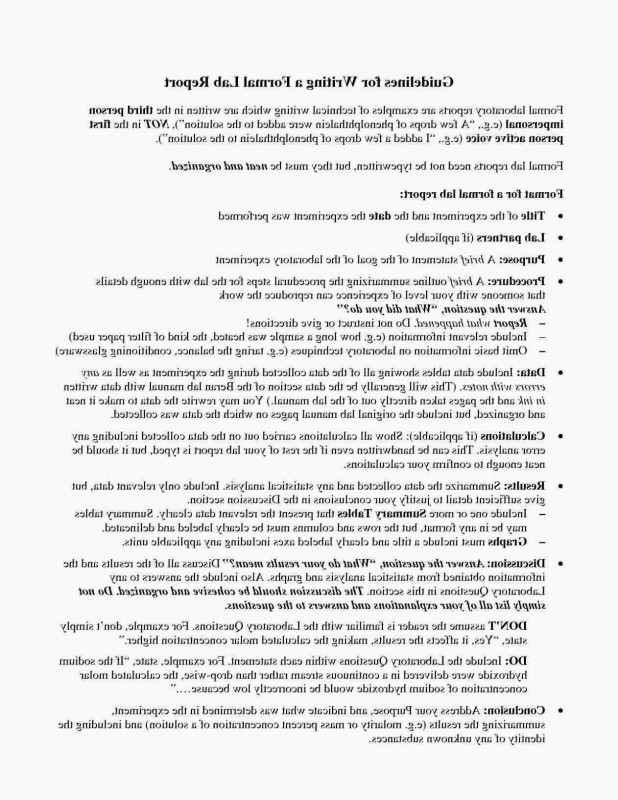 Lab Report Conclusion Template Awesome Physics Lab Template Science Fair Proposal Ideas Luxury Equipment