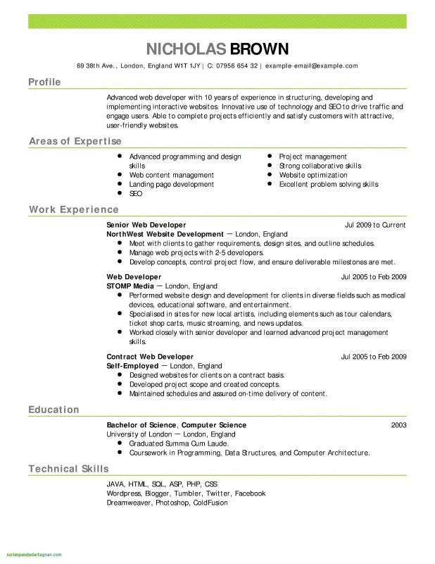 Latex Template For Report Unique Sample Resume Templates Free Download New Resume Template Free