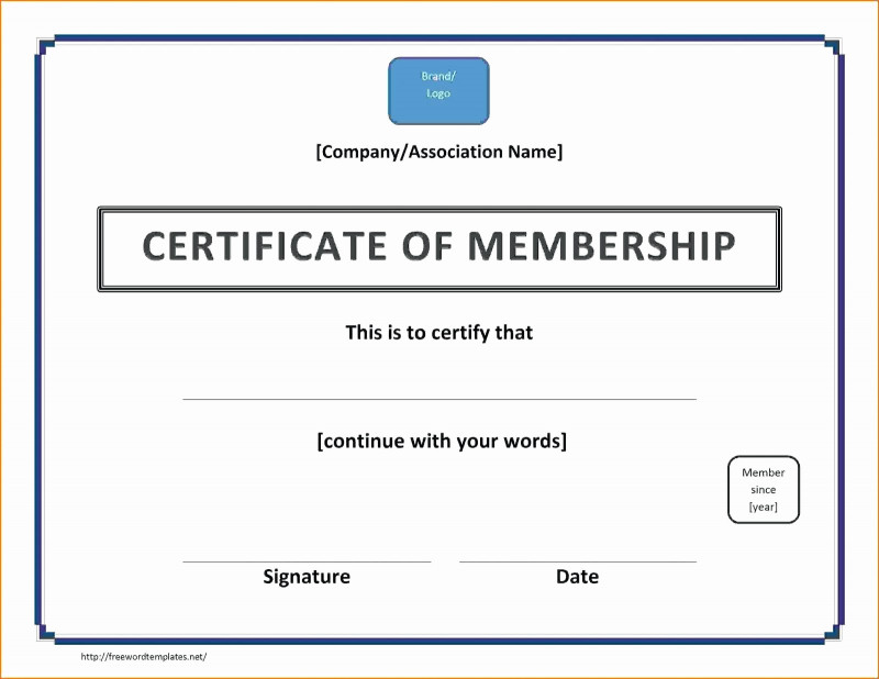 Life Membership Certificate Templates Awesome Llc Membership Certificate How To Fill Out Inspirational Fantastic