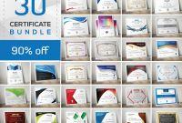 Life Saving Award Certificate Template Awesome 50 Certificate Templates to Design Stunning Awards Creative Market