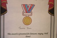 Life Saving Award Certificate Template New Certificate Talent Show Inside Award Template Radiodignidad org