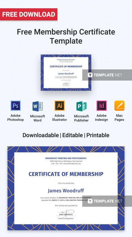 Llc Membership Certificate Template Unique Free Membership Certificate Cablo Commongroundsapex Co