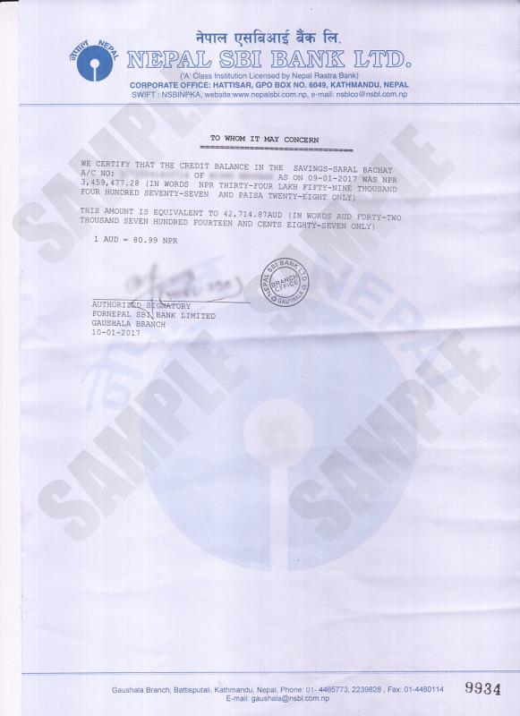 Long Service Certificate Template Sample Unique Bank Balance Certificate Kiec