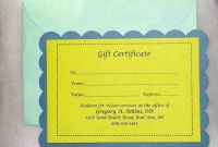 Massage Gift Certificate Template Free Printable Awesome Printable Massage Gift Certificate Template Thomasdegasperi Com