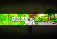 Minecraft Server Banner Template Unique Group Of Youtube Minecraft Banner Background