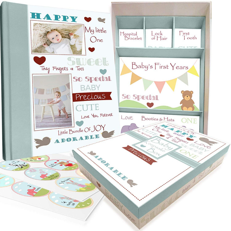 Monthly Health And Safety Report Template Professional Amazon Com Baby Memory Book W Keepsake Box 30 Monthly Baby