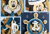 Nautical Banner Template Unique Ahoy Beautiful Hand Made Mickey Nautical Invitation Its All In