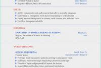 Nurse Report Template New 40 Sample format Of Certificate Professional Resume