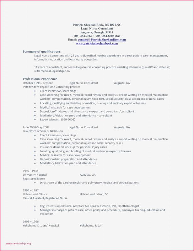 Nursing Shift Report Template New Sample Resume For Nurses With Experience New Sample Resume For