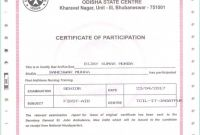 Official Birth Certificate Template Awesome Editable Award Certificate Template Tacu sotechco Co