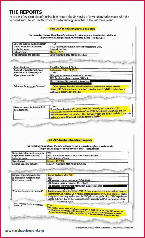 Ohs Monthly Report Template New Incident Report Letter Sample In Workplace Fresh Work Incident