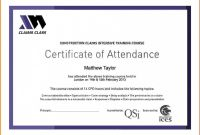 Perfect attendance Certificate Template New attendance Certificate Template Free format Perfect Word Download Of