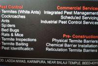 Pest Control Inspection Report Template Unique Aarav Enterprises and Services M Ganj Beed 24 Hours Pest Control