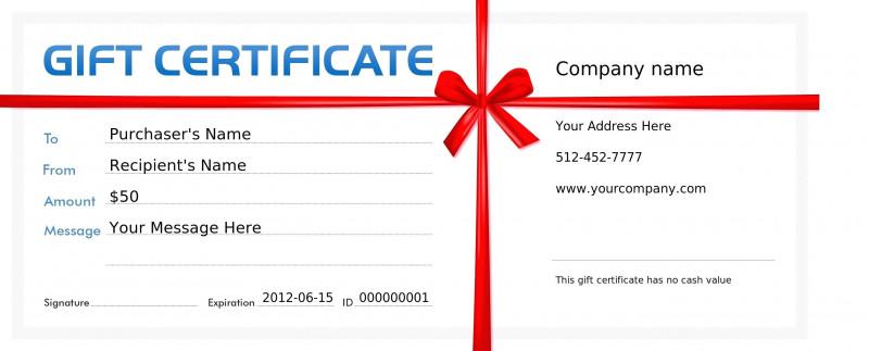 Pizza Gift Certificate Template Unique Personal Training Gift Certificate Template Villa Chems Com