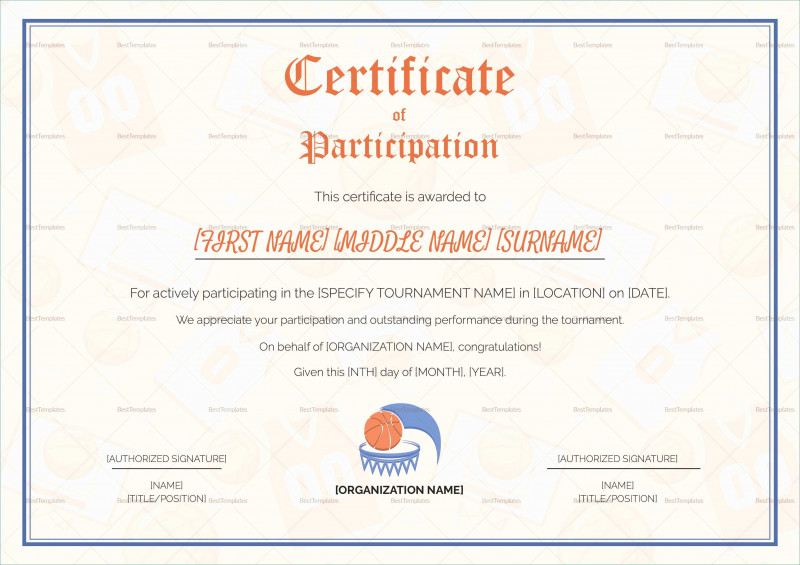 Player Of The Day Certificate Template New Athletic Certificate Template Work Completion Format Doc New Sample